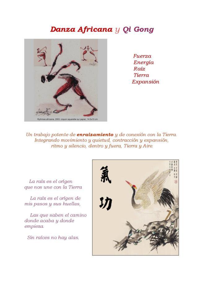 Danza Africana y Qi Gong_Lask II