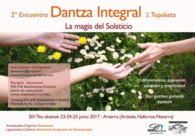Cartel 2017 Danza Integral Topaketa